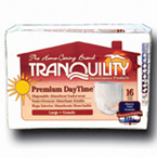 TRANQUILITY® Premium DayTime™ Disposable Underwear Large
