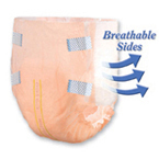 TRANQUILITY® SlimLine® Breathable Brief -XL