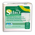 SELECT® Disposable Absorbent Underwear - XXL-Plus