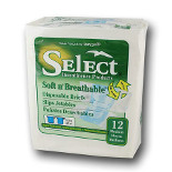 SELECT® Soft n' Breathable Disposable Brief - M