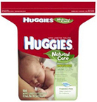HUGGIES UNSCENTED WIPES NATURAL CARE REFILLS