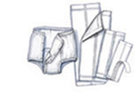 SureCare Garment Liners Super Absorbency
