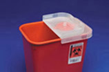MULTI PURPOSE Sharps Container w/Rotor Opening Lid