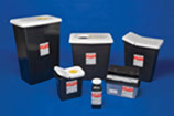 Sharps Container-8 Gallon,RCRA with Slide Lid, Black,