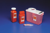 TRANSPORTABLE Sharps Container- 1.5 Quart,