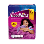 GOODNITES YOUTH PANTS S/M GIRL