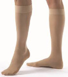 T.E.D. Knee Length Sm/Long LF Closed Toe